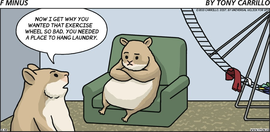 F Minus for Feb 10, 2013 Comic Strip