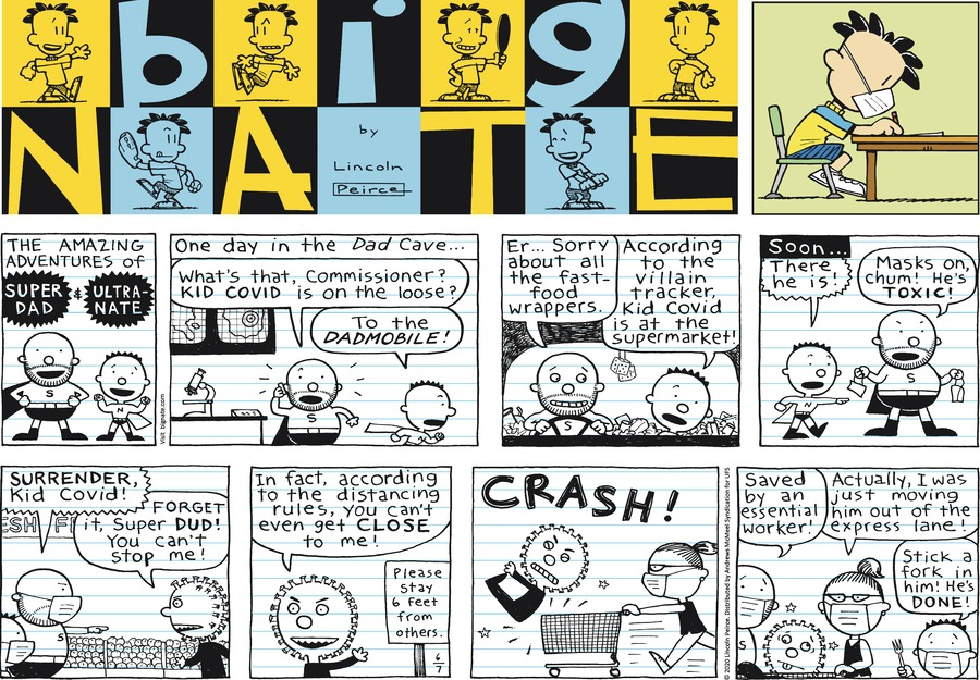Big Nate Comic Strip for June 07, 2020