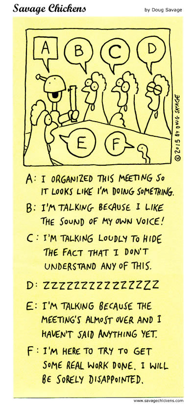 Savage Chickens Comic Strip for February 07, 2019