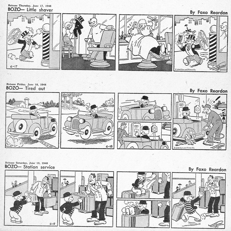 Bozo Comic Strip for August 04, 2021