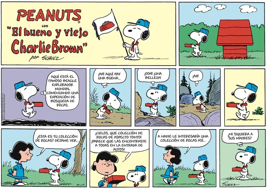 Snoopy en Español by Charles Schulz on Sun, 17 Oct 2021