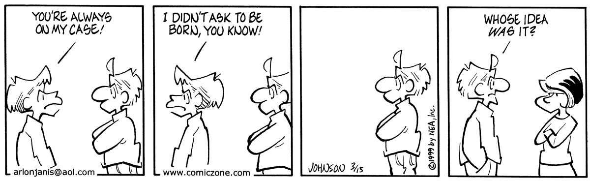Arlo and Janis Comic Strip for March 15, 1999