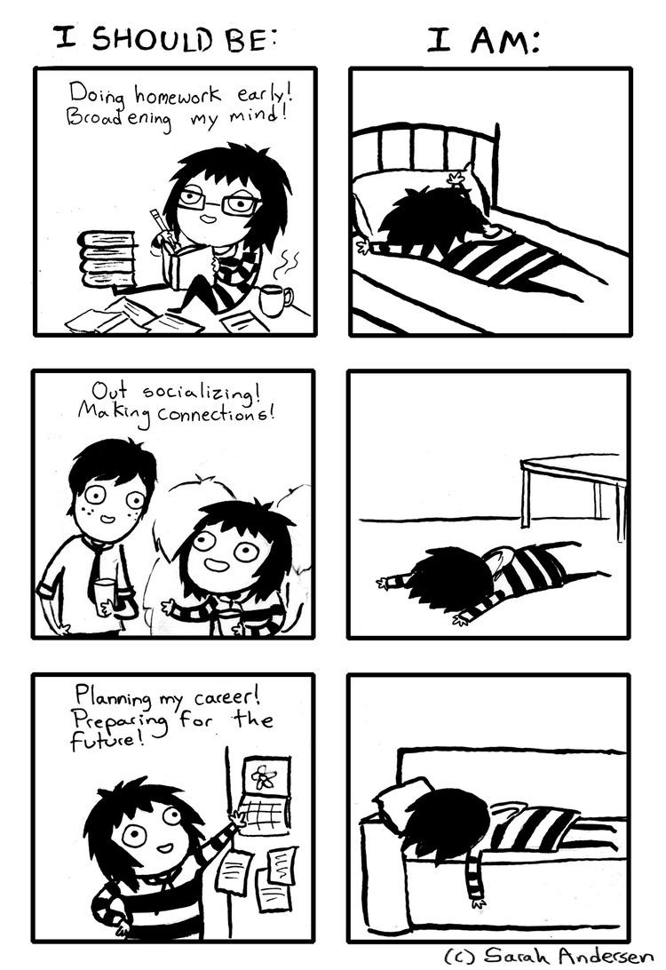 Sarah's Scribbles for Jan 12, 2014 Comic Strip