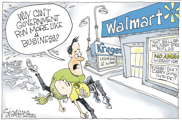 Signe Wilkinson by Signe Wilkinson for September 05, 2019