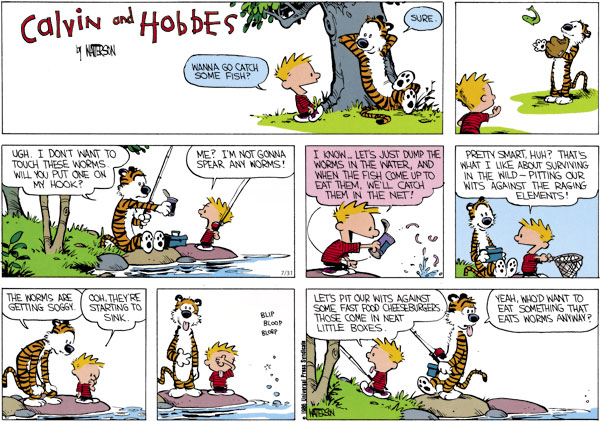 Calvin and Hobbes for Jul 31, 2011 Comic Strip