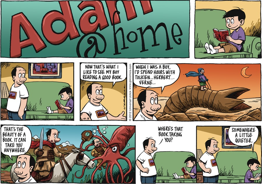 Adam@Home for Oct 7, 2012 Comic Strip