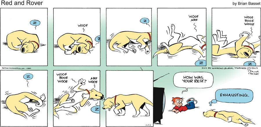 Red and Rover Comic Strip for November 17, 2019