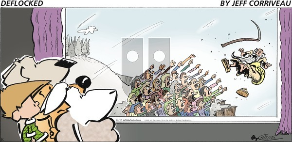 DeFlocked on Sunday December 27, 2020 Comic Strip