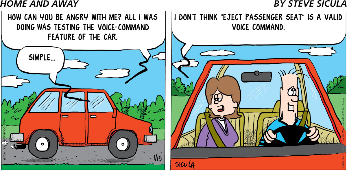 Home and Away Comic Strip for April 20, 2019
