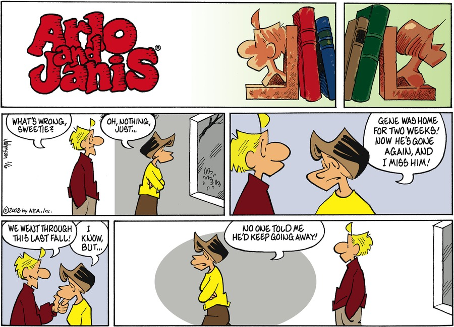Arlo and Janis Comic Strip for January 06, 2008