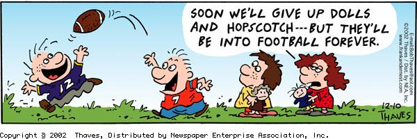 Frank and Ernest Comic Strip for December 10, 2002