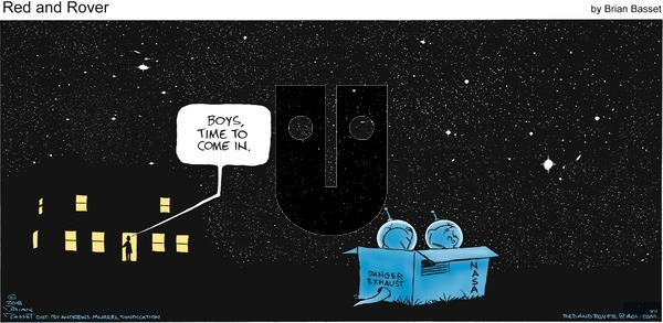 Red and Rover on Sunday September 12, 2021 Comic Strip