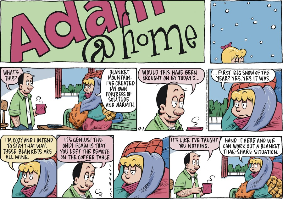 Adam@Home Comic Strip for December 01, 2019