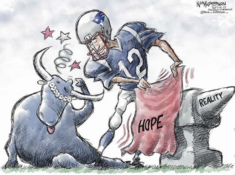 Nick Anderson for Jan 15, 2013 Comic Strip
