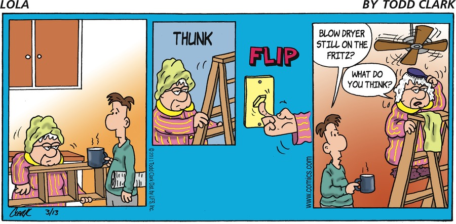 Lola Comic Strip for March 13, 2011