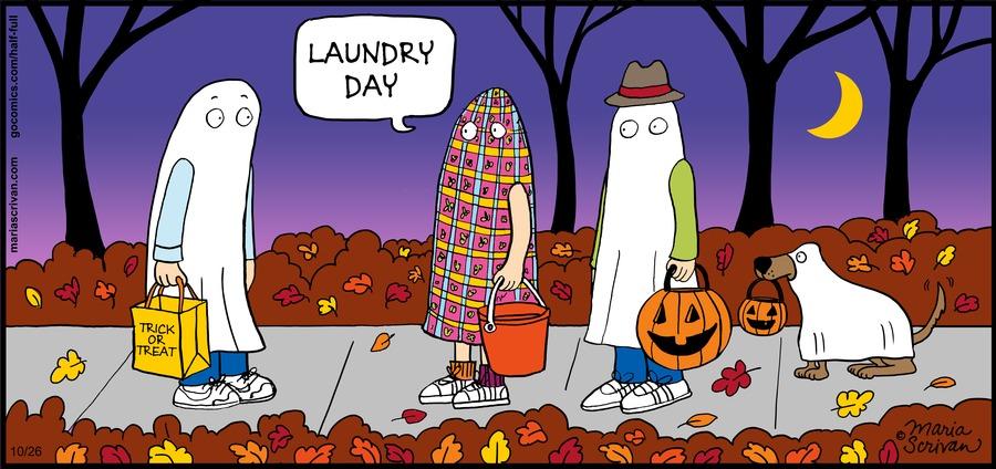 Half Full Comic Strip for October 26, 2014