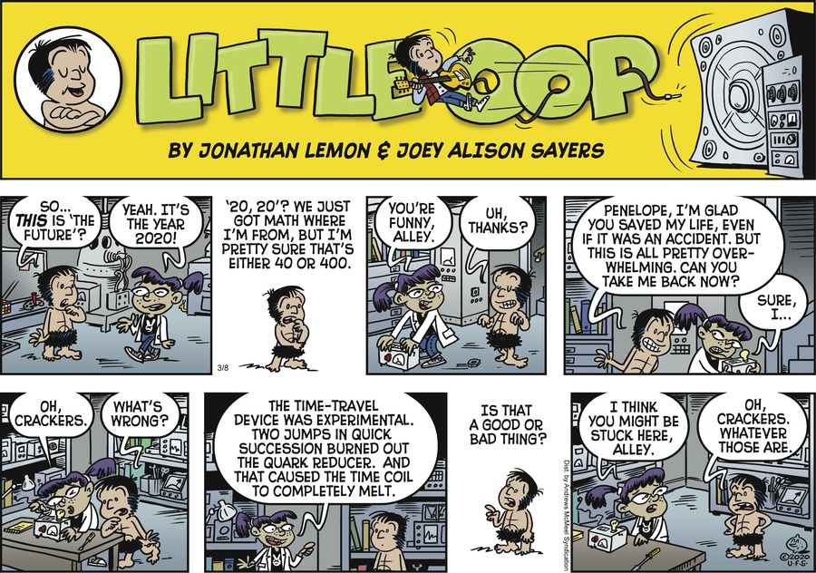 Alley Oop Comic Strip for March 08, 2020