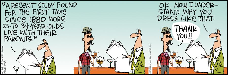 Mike du Jour Comic Strip for June 22, 2021