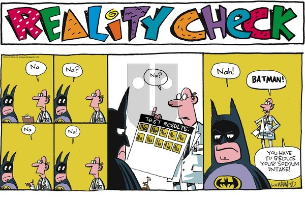 Reality Check on Sunday May 30, 2021 Comic Strip