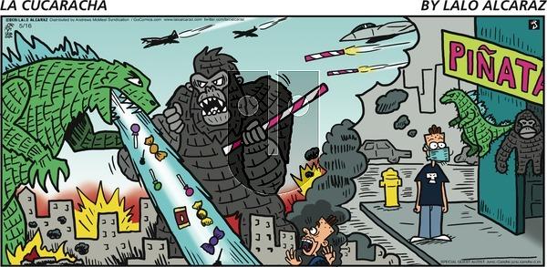 La Cucaracha on Sunday May 16, 2021 Comic Strip