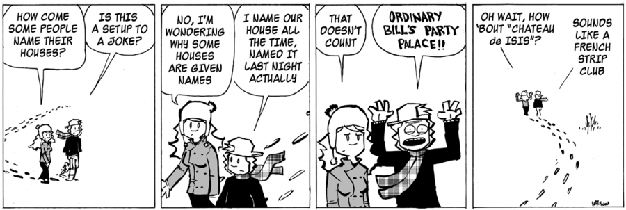 Ordinary Bill Comic Strip for January 13, 2021
