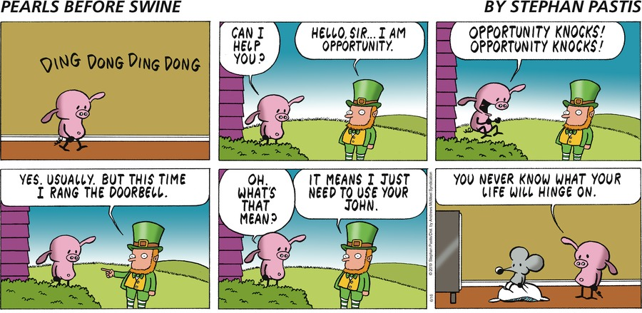 Pearls Before Swine Comic Strip for June 16, 2019