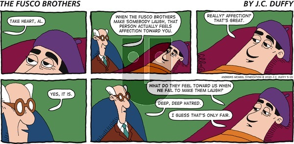 The Fusco Brothers on Sunday May 24, 2020 Comic Strip