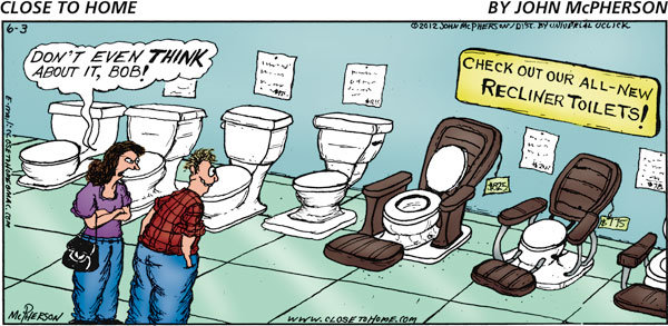 Close to Home Comic Strip for June 03, 2012