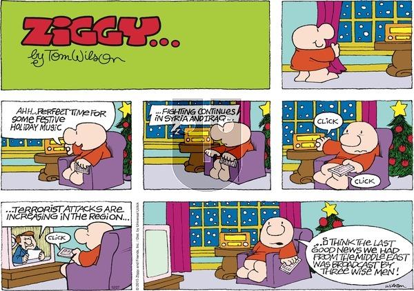 Ziggy on December 27, 2015 Comic Strip