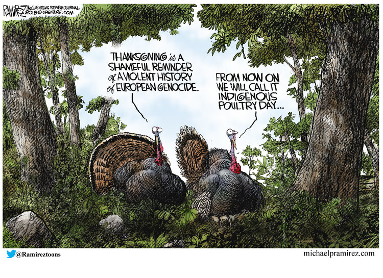 Michael Ramirez Comic Strip for November 23, 2018