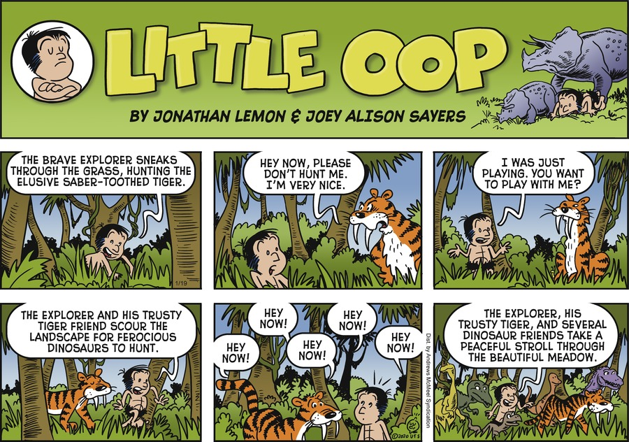 Alley Oop Comic Strip for January 19, 2020