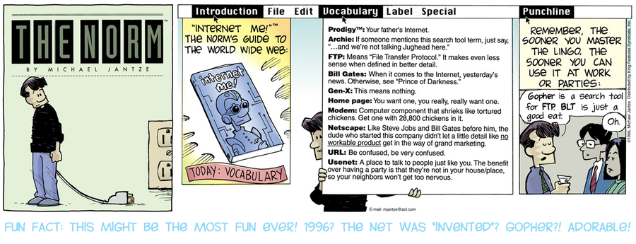 The Norm Classics Comic Strip for August 22, 2021