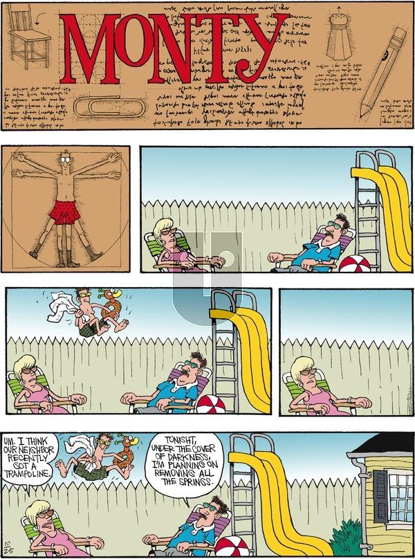 Monty on Sunday October 25, 2020 Comic Strip