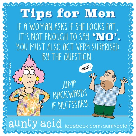 Aunty Acid Comic Strip for February 28, 2021
