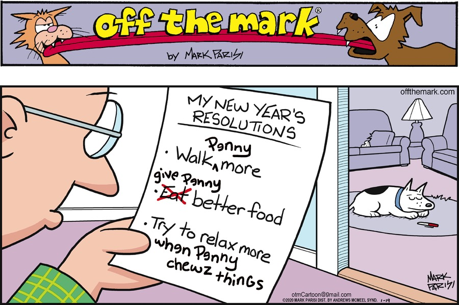Off the Mark Comic Strip for January 19, 2020