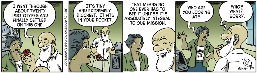 Alley Oop Comic Strip for June 13, 2019