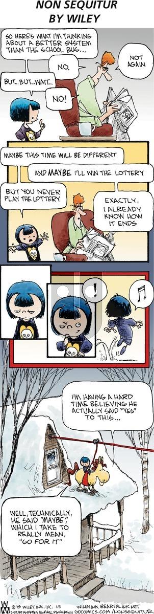 Non Sequitur on Sunday January 6, 2019 Comic Strip