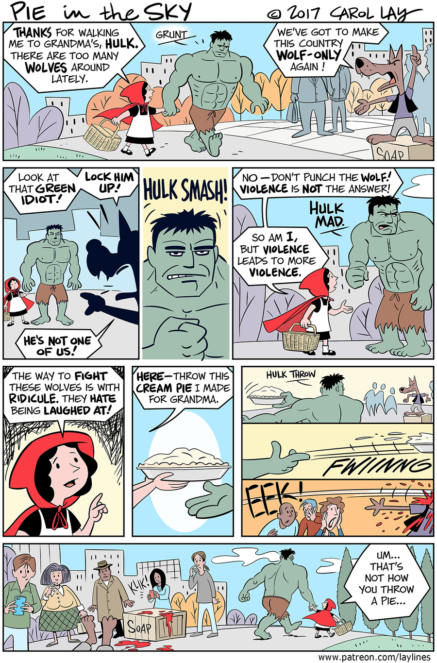 Lay Lines Comic Strip for March 20, 2017