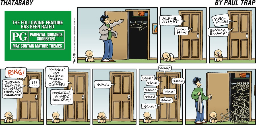 Thatababy Comic Strip for April 24, 2016