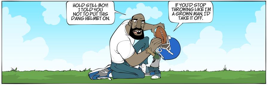 A Problem Like Jamal Comic Strip for February 11, 2019