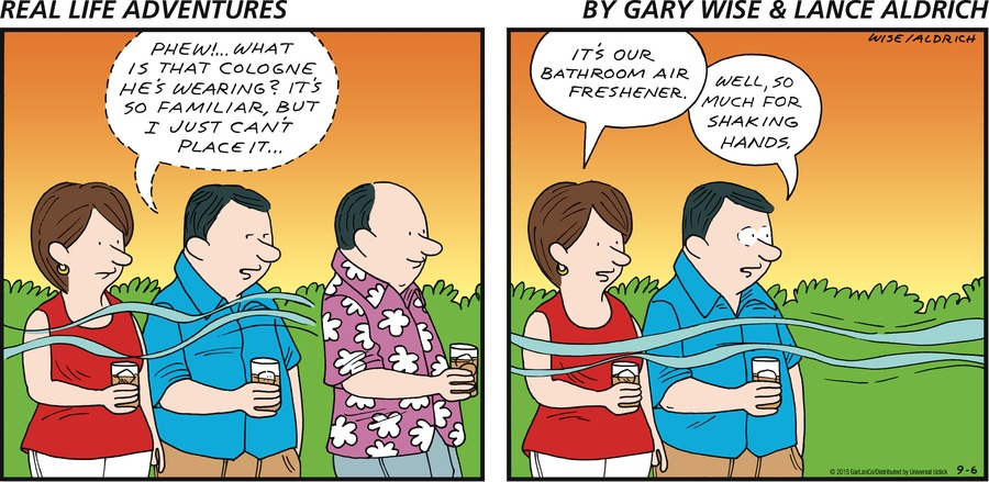 Real Life Adventures Comic Strip for September 06, 2015