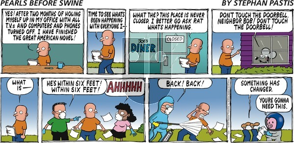 Pearls Before Swine on Sunday May 24, 2020 Comic Strip