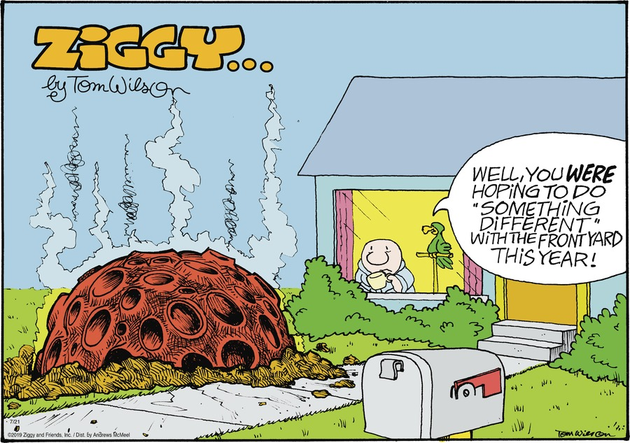 Ziggy Comic Strip for July 21, 2019