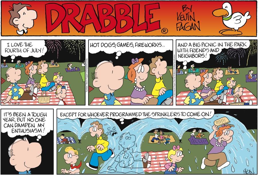 Drabble Comic Strip for July 04, 2021