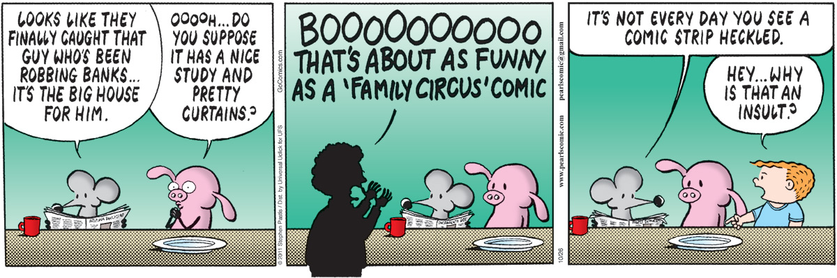 Pearls Before Swine for Oct 26, 2011 Comic Strip