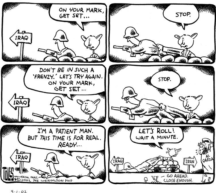 Tom Toles Comic Strip for September 01, 2002