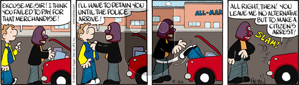 Drabble on Wednesday May 20, 2009 Comic Strip