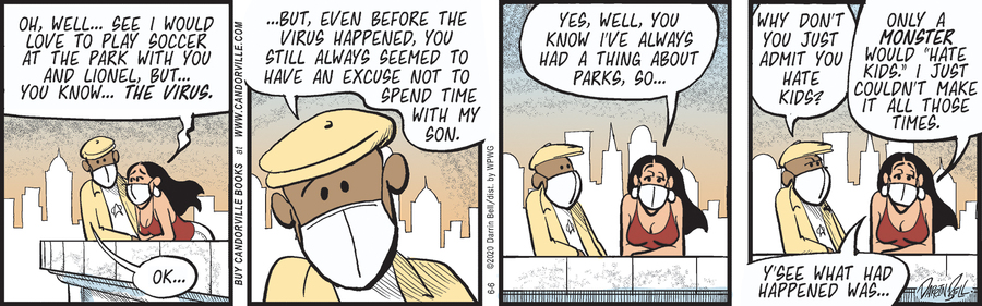 Candorville Comic Strip for June 06, 2020