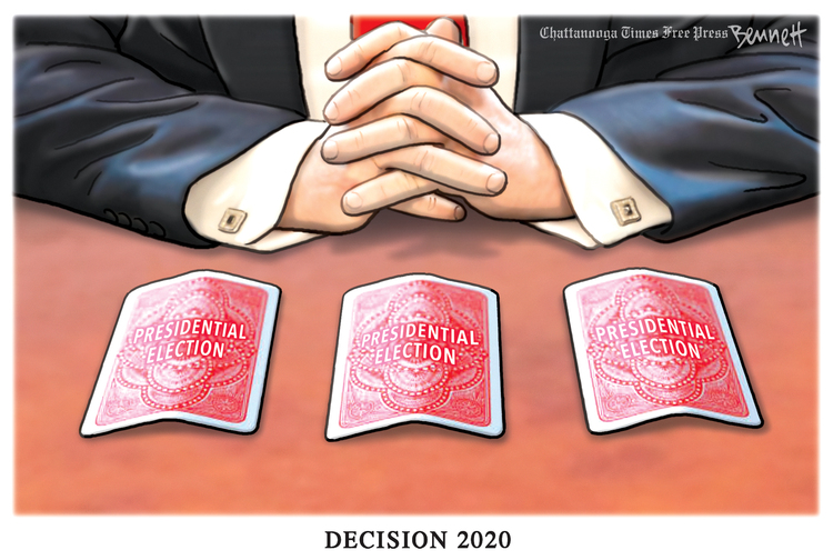 Clay Bennett by Clay Bennett on Fri, 25 Sep 2020