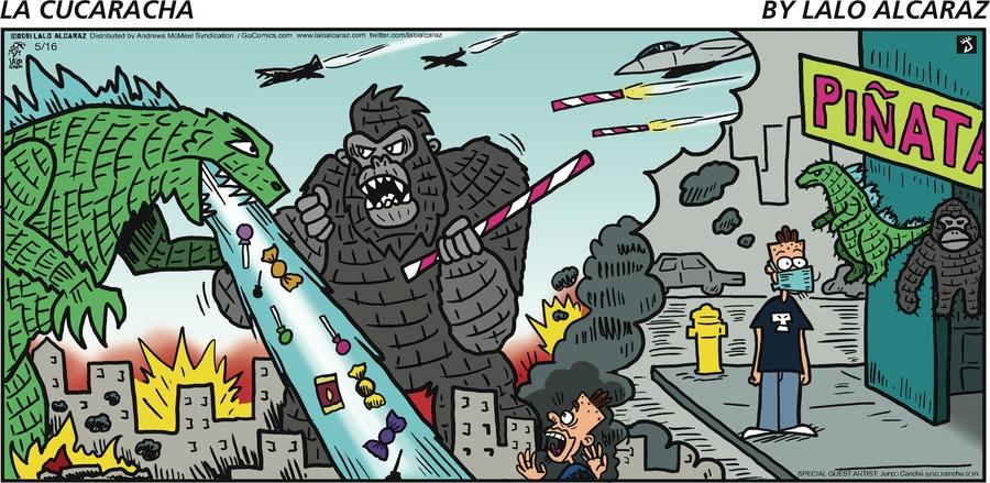 La Cucaracha Comic Strip for May 16, 2021